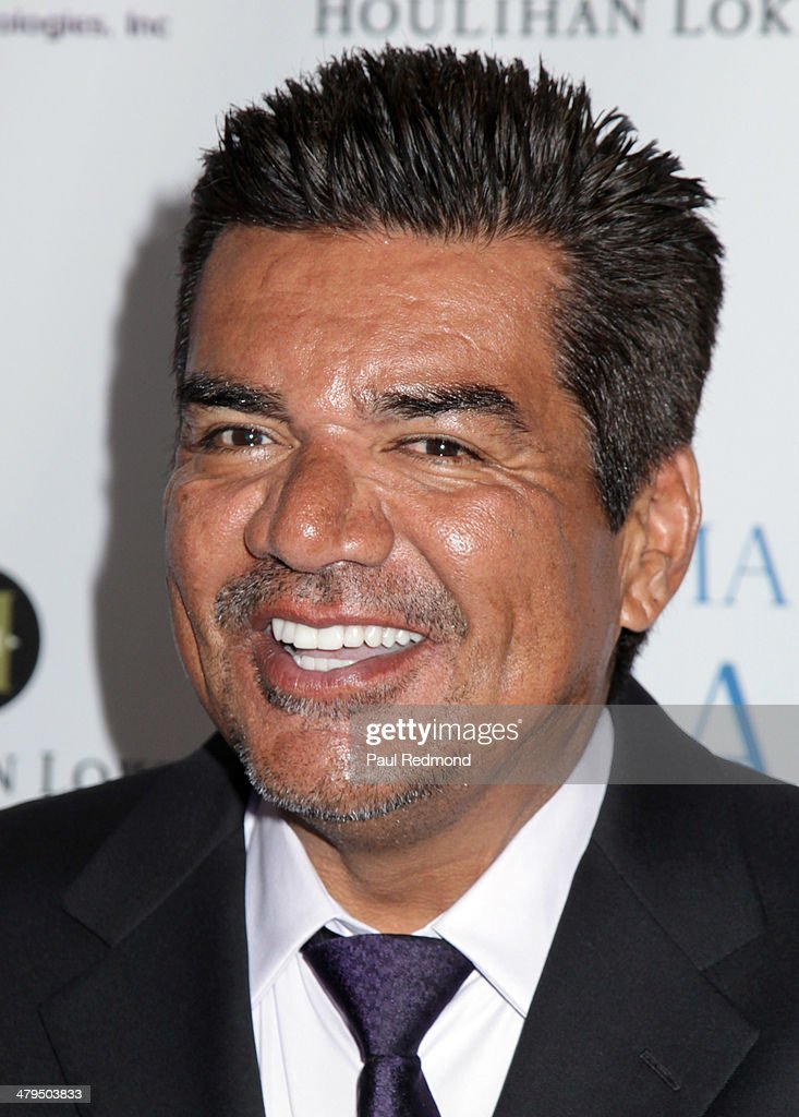 Comedian <a gi-track='captionPersonalityLinkClicked' href=/galleries/search?phrase=George+Lopez&family=editorial&specificpeople=202546 ng-click='$event.stopPropagation()'>George Lopez</a> arriving at the 2nd Annual Norma Jean Gala 2014 at The Paley Center for Media on March 18, 2014 in Beverly Hills, California.