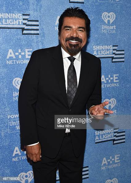 Comedian George Lopez attends AE Networks 'Shining A Light' concert at The Shrine Auditorium on November 18 2015 in Los Angeles California