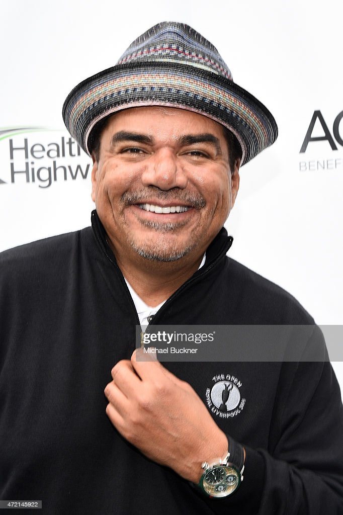 Comedian George Lopez attends the 8th Annual George Lopez Celebrity Golf Classic presented by Sabra salsa to benefit the George Lopez Foundation at...