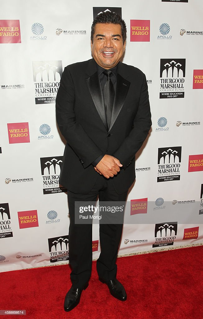 Comedian <a gi-track='captionPersonalityLinkClicked' href=/galleries/search?phrase=George+Lopez&family=editorial&specificpeople=202546 ng-click='$event.stopPropagation()'>George Lopez</a> attends the Thurgood Marshall College Fund 26th Awards Gala at Washington Hilton on November 12, 2014 in Washington, DC.