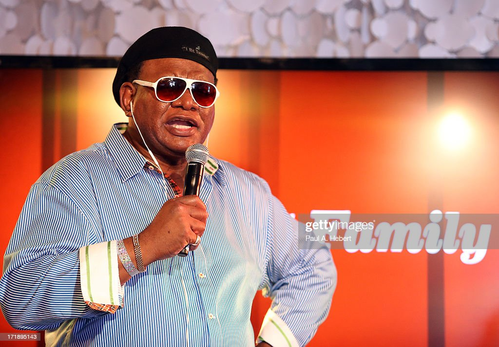 Comedian George Wallace at the Centric Pavilion during the 2013 BET Experience at L.A. LIVE on June 29, 2013 in Los Angeles, California.