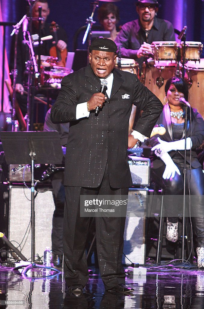 Comedian George Wallace performs at the Soul Train Awards 2012 at PH Live at Planet Hollywood Resort and Casino on November 8, 2012 in Las Vegas, Nevada.