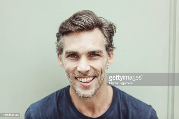 Comedian Gianni Giardinelli is photographed for Self Assignment on June 4 2017 in Paris France