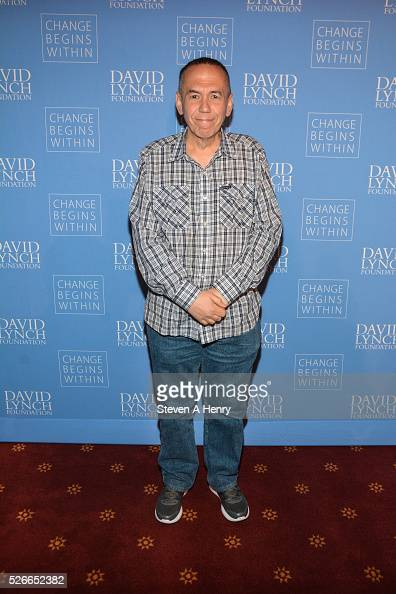 Comedian Gilbert Gottfried 'An Amazing Night Of Comedy A David Lynch Foundation Benefit For Veterans With PTSD' at New York City Center on April 30...