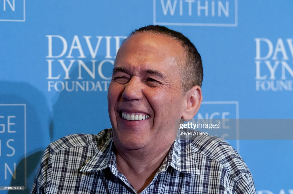 Comedian <a gi-track='captionPersonalityLinkClicked' href=/galleries/search?phrase=Gilbert+Gottfried&family=editorial&specificpeople=214732 ng-click='$event.stopPropagation()'>Gilbert Gottfried</a> 'An Amazing Night Of Comedy: A David Lynch Foundation Benefit For Veterans With PTSD' at New York City Center on April 30, 2016 in New York City.
