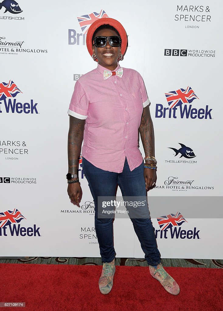 Comedian Gina Yashere attends BritWeek's 10th Anniversary VIP Reception & Gala at Fairmont Hotel on May 1, 2016 in Los Angeles, California.