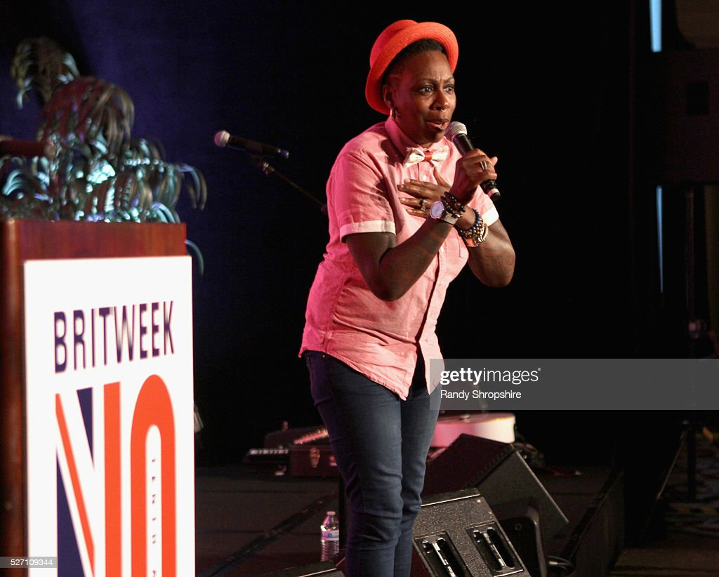 Comedian Gina Yashere speaks onstage BritWeek's 10th Anniversary VIP Reception & Gala at Fairmont Hotel on May 1, 2016 in Los Angeles, California.