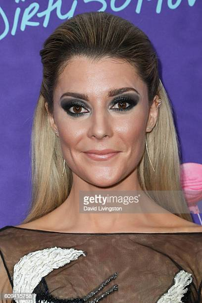 Comedian Grace Helbig arrives at the Premiere of Lionsgate's 'Dirty 30' at the ArcLight Hollywood on September 20 2016 in Hollywood California