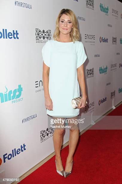 Comedian Grace Helbig attends the 6th Annual Thirst Gala at The Beverly Hilton Hotel on June 30 2015 in Beverly Hills California
