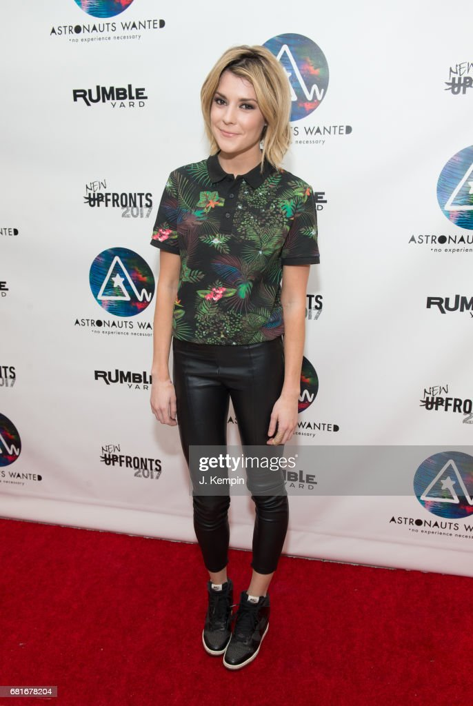 Comedian Grace Helbig attends the Astronauts Wanted And Rumble Yard Joint 2017 New Front Presentation at Sony Music Headquarters on May 10, 2017 in New York City.