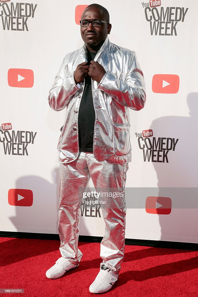 Comedian <a gi-track='captionPersonalityLinkClicked' href=/galleries/search?phrase=Hannibal+Buress&family=editorial&specificpeople=4517735 ng-click='$event.stopPropagation()'>Hannibal Buress</a> arrives at the YouTube Comedy Week Presents 'The Big Live Comedy Show' at Culver Studios on May 19, 2013 in Culver City, California.