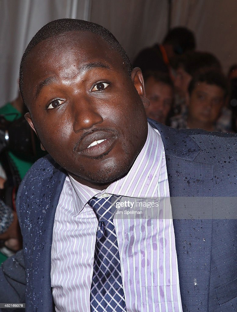 Comedian Hannibal Buress attends the 'Sex Tape' screening at Regal Union Square on July 14, 2014 in New York City.