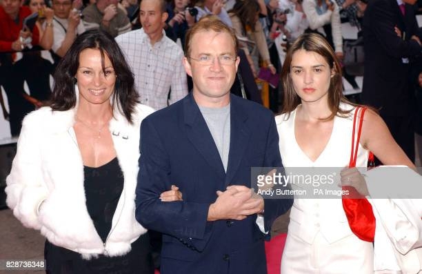 Comedian Harry Enfield and family arriving at The Odeon Leicester Square London for the UK premiere of Charlie's Angels Full Throttle