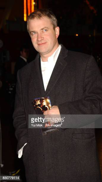 Comedian Harry Enfield arriving at the Empire Leicester Square in London for the Royal Film Performance 2001 and World Premiere of 'Ali'