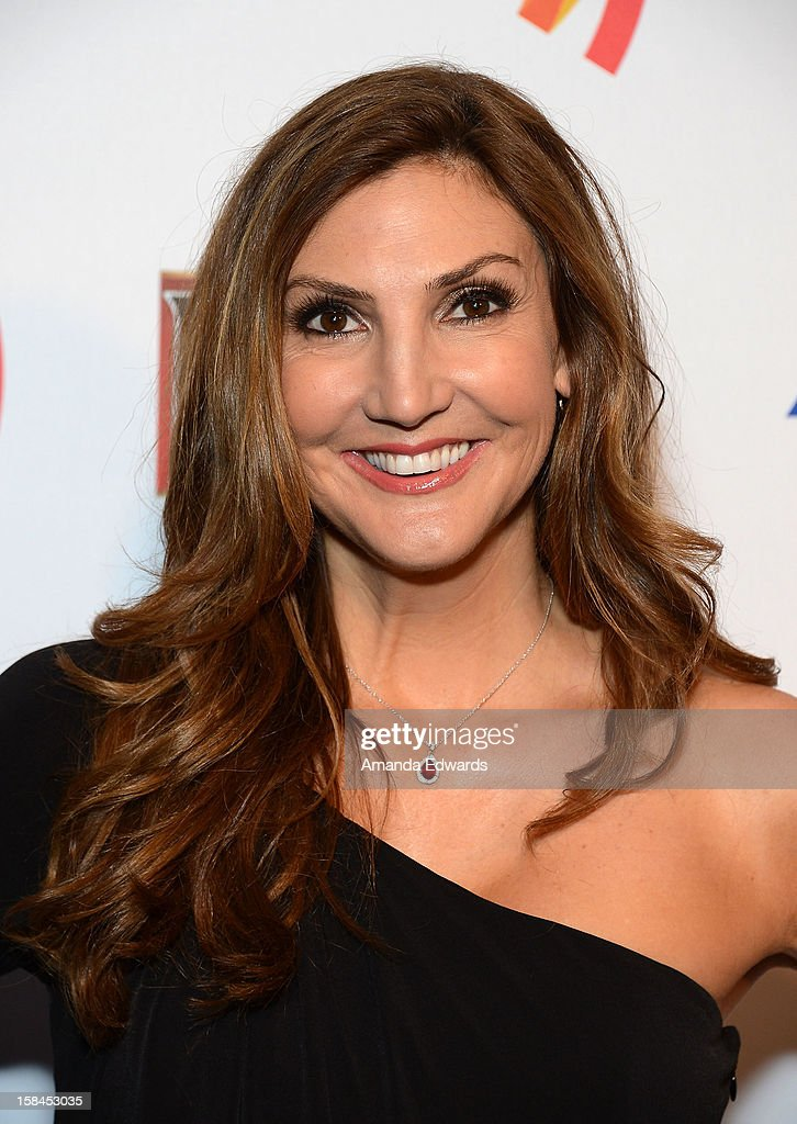 Comedian Heather McDonald arrives at the GLAAD Tidings Annual Holiday Celebration at The London Hotel on December 16, 2012 in West Hollywood, California.