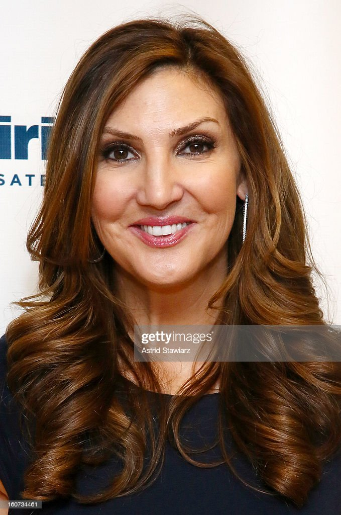 Comedian <a gi-track='captionPersonalityLinkClicked' href=/galleries/search?phrase=Heather+McDonald&family=editorial&specificpeople=4756128 ng-click='$event.stopPropagation()'>Heather McDonald</a> visits the SiriusXM Studios on February 4, 2013 in New York City.