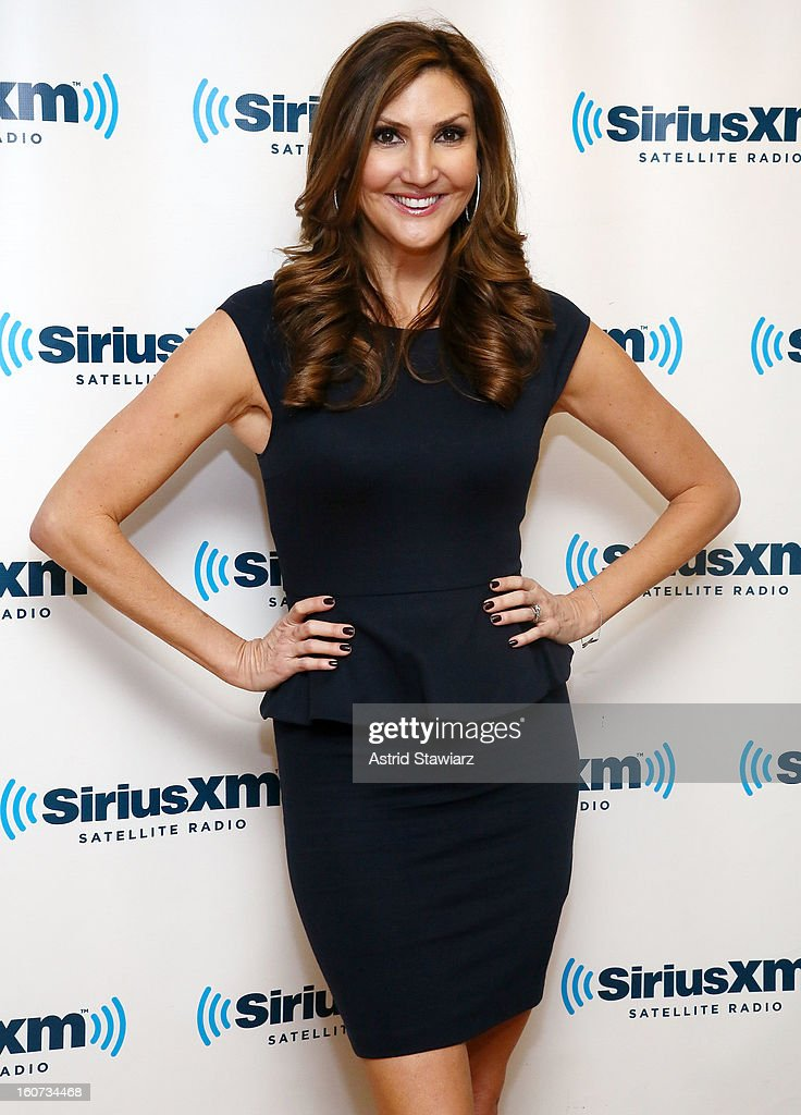 Comedian Heather McDonald visits the SiriusXM Studios on February 4, 2013 in New York City.