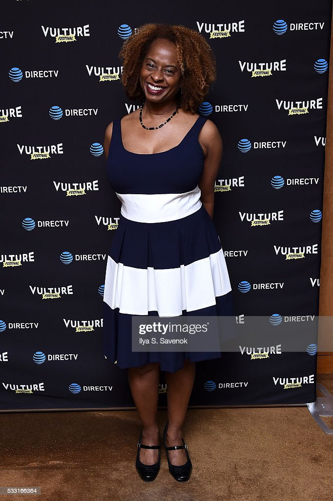 Comedian Holly Walker attends the Vulture Festival Opening Night Party sponsored by DirecTV at The Top of The Standard on May 20 2016 in New York City