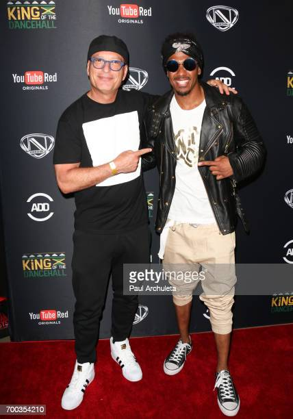 Comedian Howie Mandel and TV Personality Nick Cannon attend the screening of 'King Of The Dance Hall' at TCL Chinese 6 Theatres on June 22 2017 in...