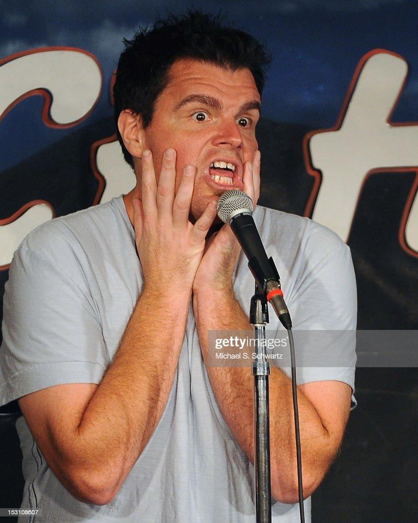 Comedian Ian Bagg performs during his appearance at The Ice House Comedy Club on September 29, 2012 in Pasadena, California.