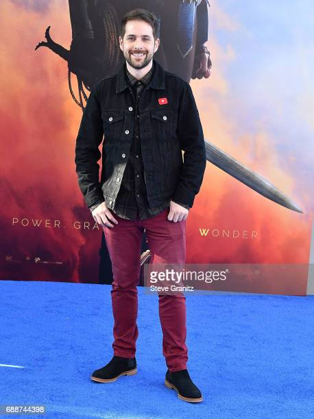 Comedian Ian Hecox arrives at the Premiere Of Warner Bros Pictures' 'Wonder Woman' at the Pantages Theatre on May 25 2017 in Hollywood California