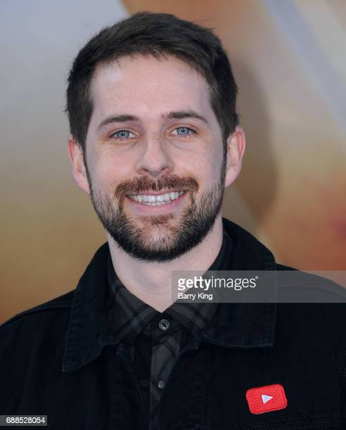 Comedian Ian Hecox attends the World Premiere of Warner Bros Pictures' 'Wonder Woman' at the Pantages Theatre on May 25 2017 in Hollywood California