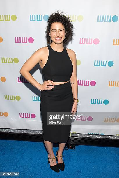Comedian Ilana Glazer attends the 2015 Worldwide Orphan Gala at Cipriani Wall Street on November 16 2015 in New York City