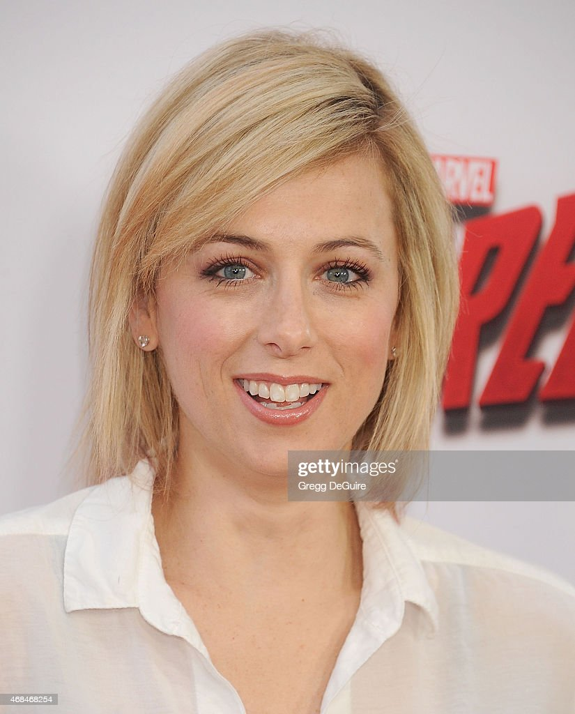 Comedian Iliza Shlesinger arrives at the premiere Of Netflix's 'Marvel's Daredevil' at Regal Cinemas L.A. Live on April 2, 2015 in Los Angeles, California.