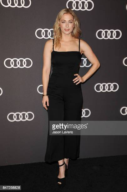 Comedian Iliza Shlesinger attends the Audi celebration for the 69th Emmys at The Highlight Room at the Dream Hollywood on September 14 2017 in...