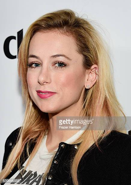 Comedian Iliza Shlesinger attends the 'Fresh Faces' party hosted by Marie Claire celebrating the May issue cover stars on April 11 2016 in Los...