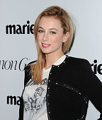 Comedian Iliza Shlesinger attends the Marie Claire Fresh Faces party at Sunset Tower Hotel on April 11 2016 in West Hollywood California
