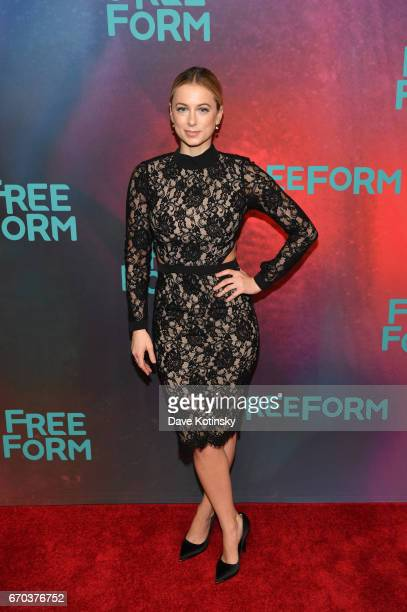 Comedian Iliza Shlesinger of 'Iliza' attends Freeform 2017 Upfront at Hudson Mercantile on April 19 2017 in New York City