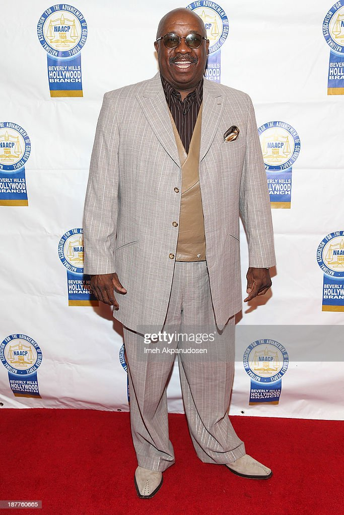 Comedian J. Anthony Brown attends the 23rd Annual NAACP Theatre Awards at Saban Theatre on November 11, 2013 in Beverly Hills, California.