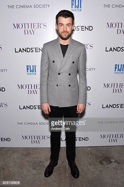 Comedian Jack Whitehall attends The Cinema Society with Lands' End host a screening of Open Road Films' 'Mother's Day' on April 28 2016 in New York...