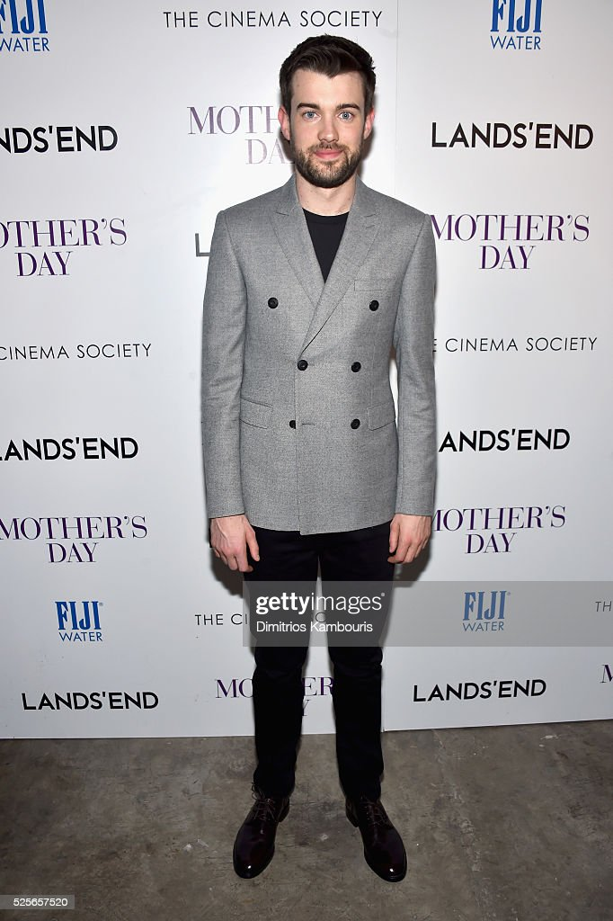 Comedian Jack Whitehall attends The Cinema Society with Lands' End screening of Open Road Films' 'Mother's Day' at Metrograph on April 28, 2016 in New York City.