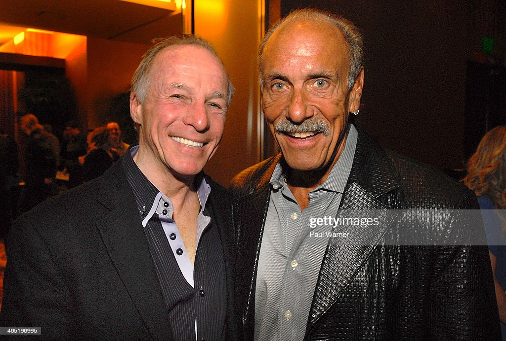 Comedian <a gi-track='captionPersonalityLinkClicked' href=/galleries/search?phrase=Jackie+Martling&family=editorial&specificpeople=584044 ng-click='$event.stopPropagation()'>Jackie Martling</a> (L) and Les Gold of the reality television show Hardcore Pawnattends Mittens for Detroit's 4th annual night of Giggles and Gloves at MGM Grand Hotel on January 25, 2014 in Detroit, Michigan.