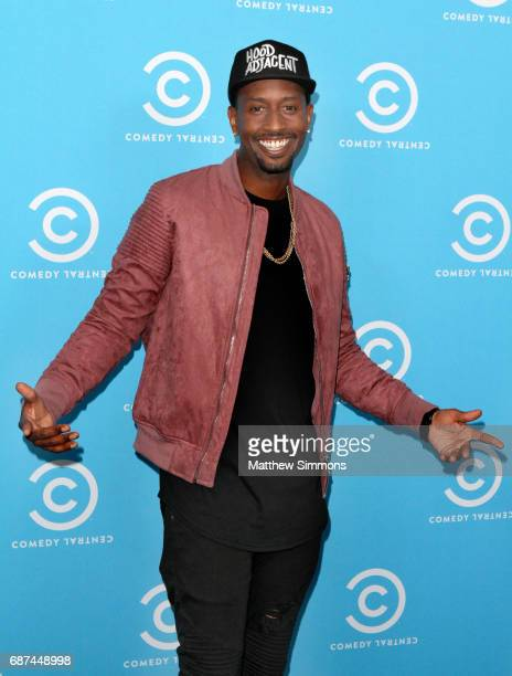 Comedian James Davis of 'Hood Adjacent with James Davis' attends Comedy Central's LA Press Day at Viacom Building on May 23 2017 in Los Angeles...