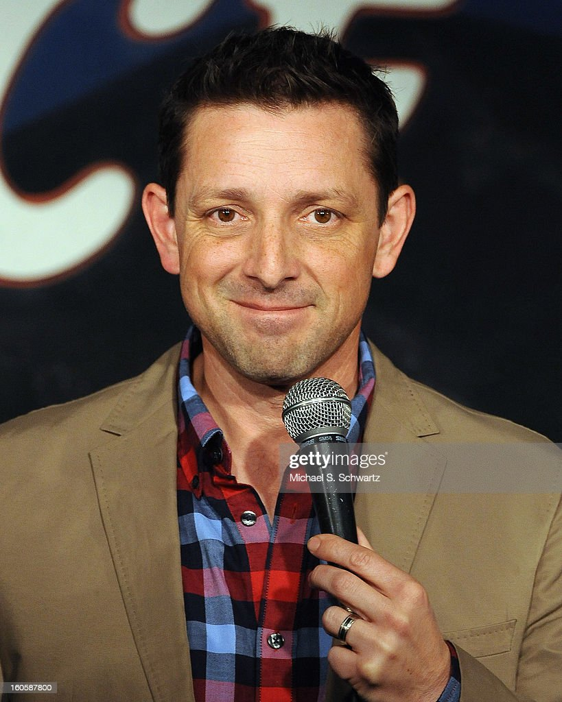 Comedian James P. Connolly performs during his appearance at The Ice House Comedy Club on February 2, 2013 in Pasadena, California.