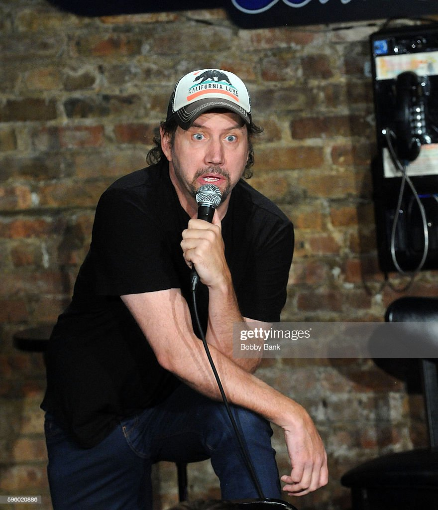 Comedian Jamie Kennedy performs at The Stress Factory Comedy Club on August 26 2016 in New Brunswick New Jersey