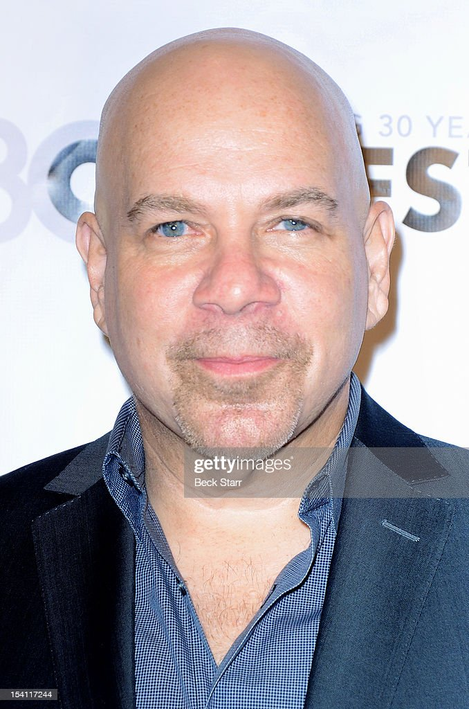 Comedian Jason Stuart arrives at the 2012 Outfest Legacy Awards at Orpheum Theatre on October 13, 2012 in Los Angeles, California.