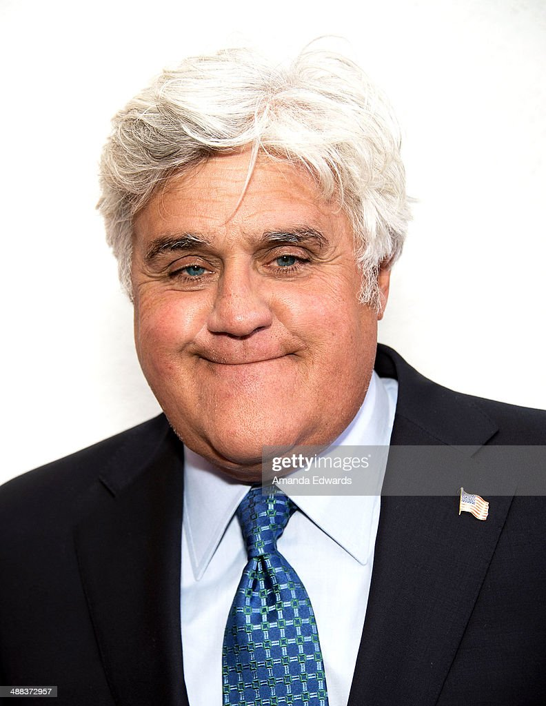 Comedian Jay Leno attends the 9th Annual Global Women's Rights Awards Reception at the Hammer Museum on May 5 2014 in Westwood California