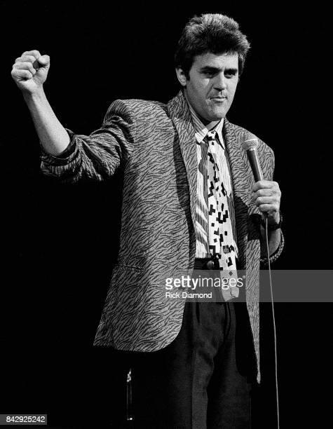 Comedian Jay Leno Performs at The Fox Theater in Atlanta Georgia April 05 1987