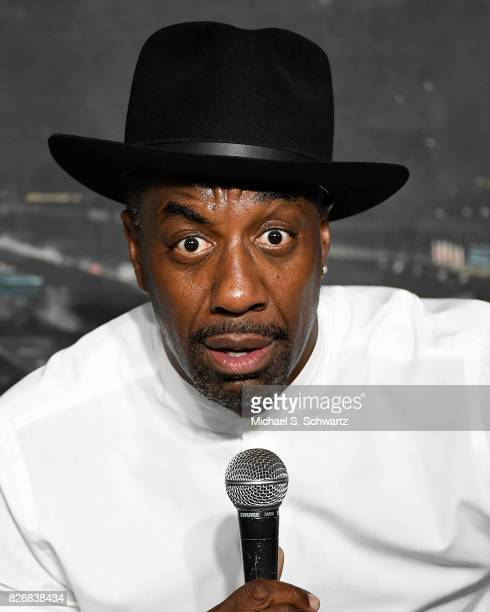 Comedian JB Smoove performs during his appearance at The Ice House Comedy Club on August 5 2017 in Pasadena California