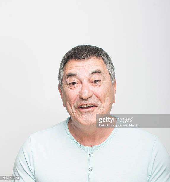 Comedian JeanMarie Bigard is photographed for Paris Match on April 21 2014 in Paris France