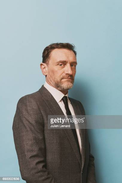 Comedian JeanPaul Rouve is photographed for Self Assignment on February 2 2017 in Paris France