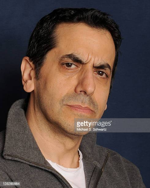 Comedian Jeff Cesario poses at The Ice House Comedy Club on October 3 2010 in Pasadena California