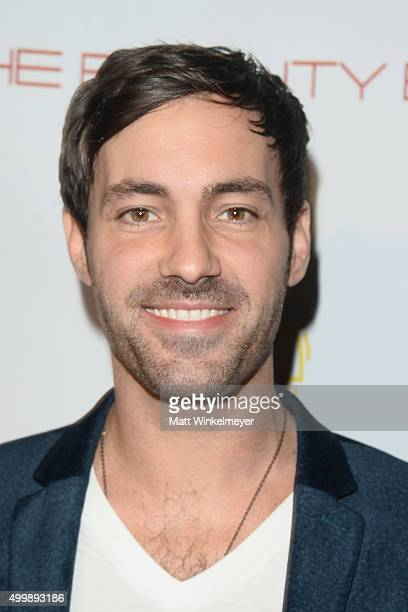 Comedian Jeff Dye arrives at 'The Beauty Book For Brain Cancer' Edition 2 Launch Party at Le Jardin on December 3 2015 in Hollywood California