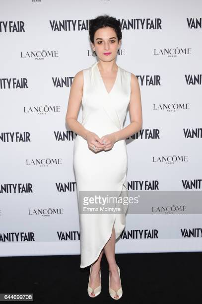 Comedian Jenny Slate attends Vanity Fair and Lancome Toast to The Hollywood Issue at Chateau Marmont on February 23 2017 in Los Angeles California
