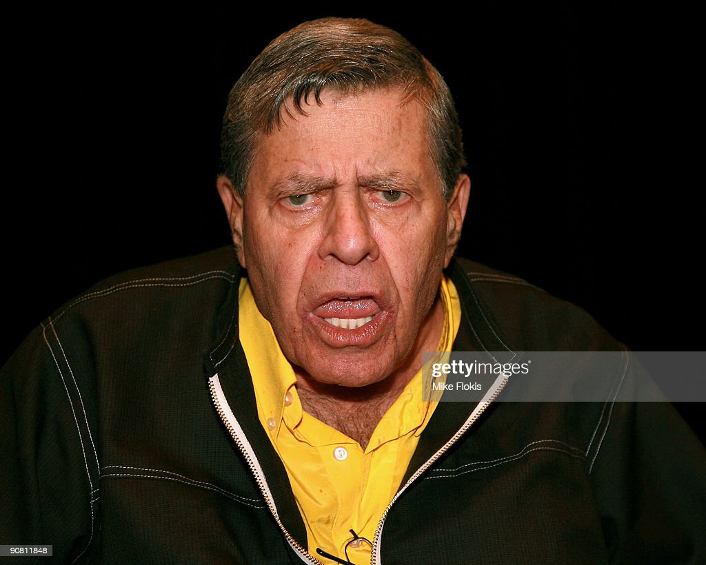 Comedian Jerry Lewis poses for a photo at a Muscular Dystrophy Family Day held at Star City on September 16, 2009 in Sydney, Australia. Lewis is in Australia to support the Muscular Dystrophy Foundation Australia (MDFA) in their fund raising and awareness efforts for the muscle wasting disease, including the 'Laugh For Life' event on Monday evening.
