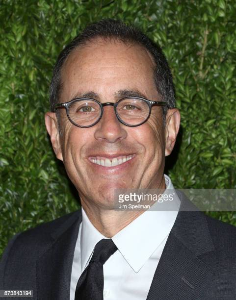Comedian Jerry Seinfeld attends the 2017 Museum of Modern Art Film Benefit Tribute to Julianne Moore at Museum of Modern Art on November 13 2017 in...